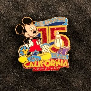 Disney California Adventure 15th Anniversary Pin